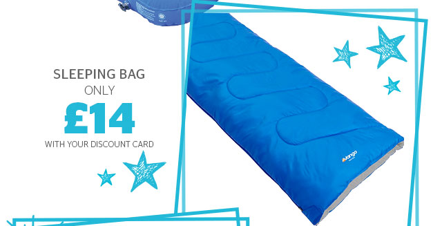 Sleeping bags from only £14