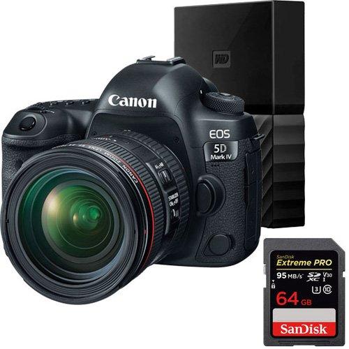 EOS 5D Mark IV DSLR Cameras