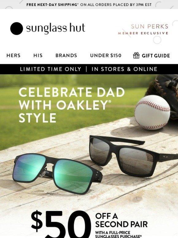 b0c0401f93 Sunglass Hut  Buy One Oakley