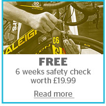 FREE 6 weeks safety check worth £19.99