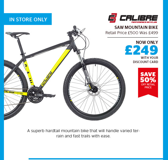 Calibre Saw Mountain Bike
