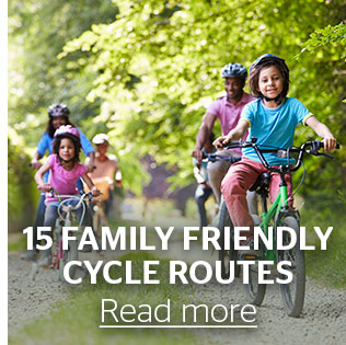 15 Family Friendly Cycle Routes