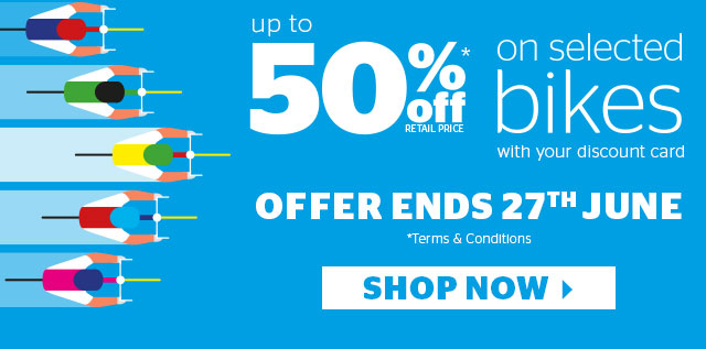 Up To 50% Off Cycling