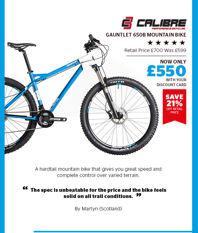 Calibre Gauntlet 650B Mountain Bike
