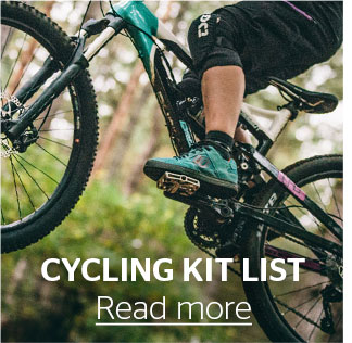 Cycling Kit List