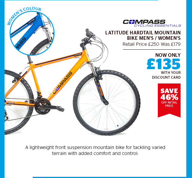 Compass Latitude Hardtail Mountain Bike