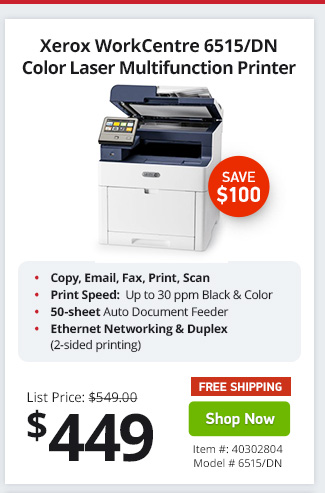 Xerox 6515 Scan To Email