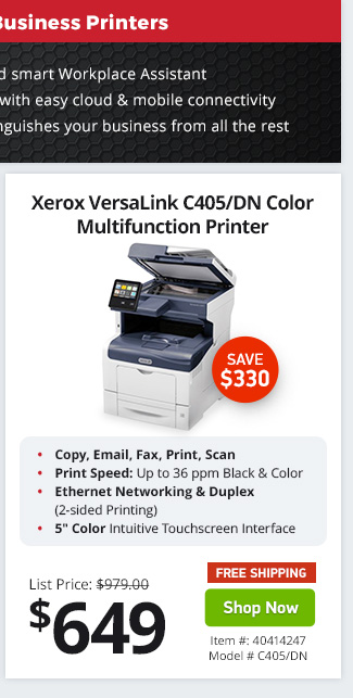 Xerox Versalink C405 Error Codes