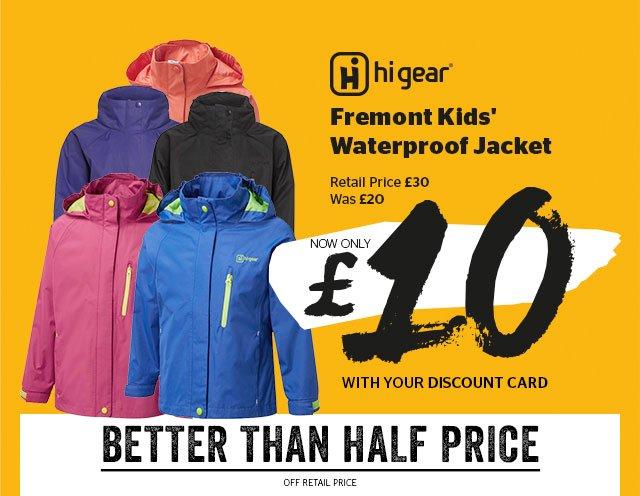 Hi Gear Fremont Kids' Waterproof Jacket