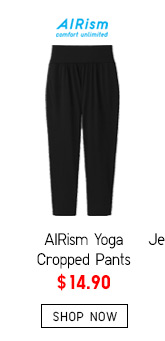 AIRism Yoga Pants -- $14.90 -- SHOP NOW