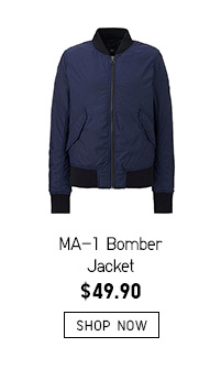 MA-1 Bomber Jacket -- $49.90 -- SHOP NOW