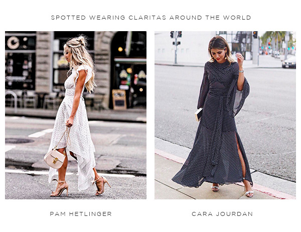 SPOTTED WEARING CLARITAS