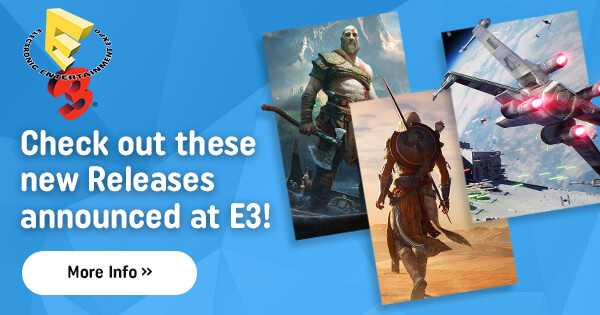 Check out these new Releases announced at E3!