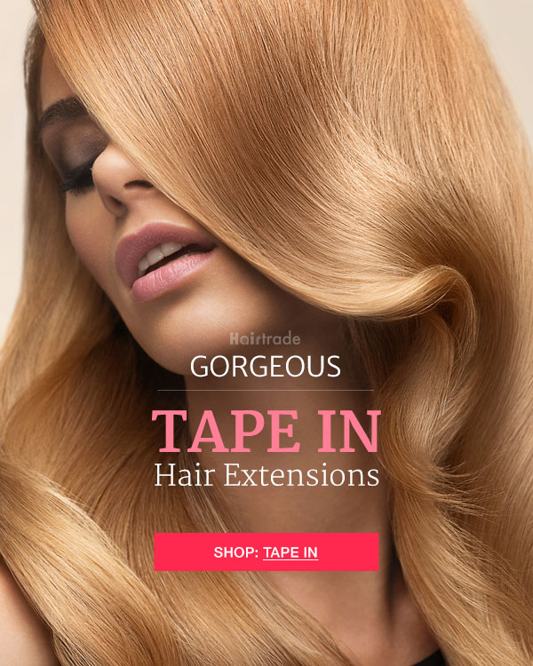 Hairtrade Discover Gorgeous Tape In Hair Extensions Milled