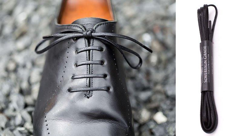 Sovereign Grade Flat Waxed Dress Shoe