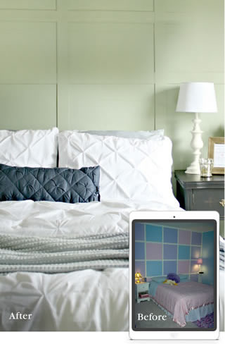 Learn How To Visualize Bedroom Paint Colors That Inspire, With ColorSnap®  From Sherwin Williams.