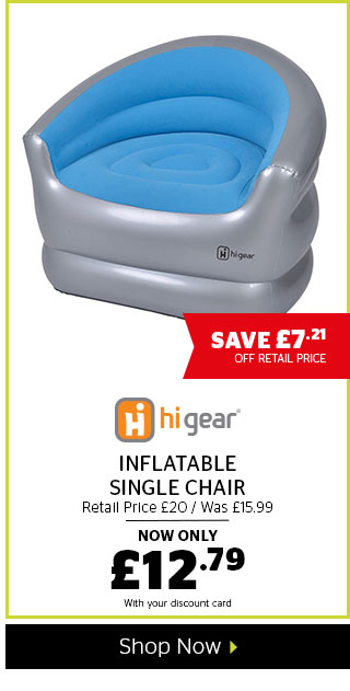 Hi Gear Inflatable Single Chair
