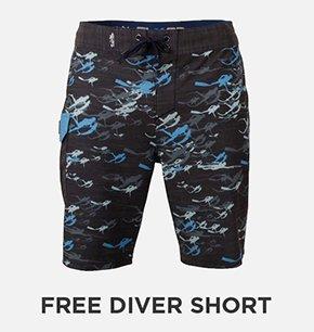 Free Diver SLX-QD Boardshort