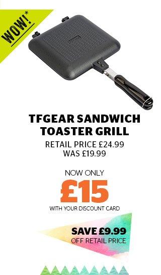 TFGear Sandwich Toaster Grill