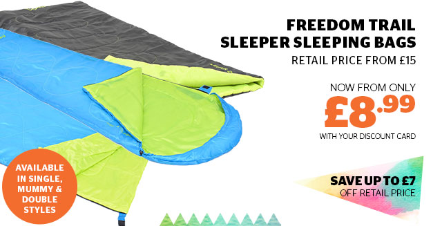 Freedom Trail Sleeper Mummy Sleeping Bags
