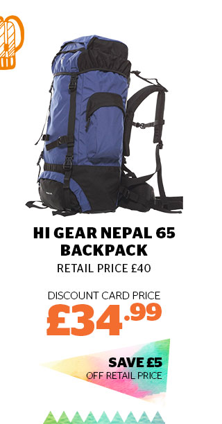 Hi Gear Nepal 65 Backpack