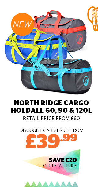 North Ridge Cargo Holdall