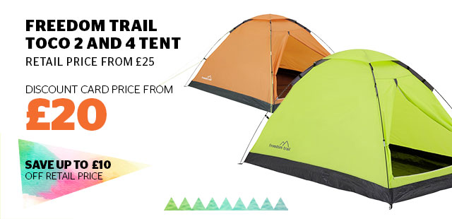 Freedom Trail Toco 2 and 4 Tent