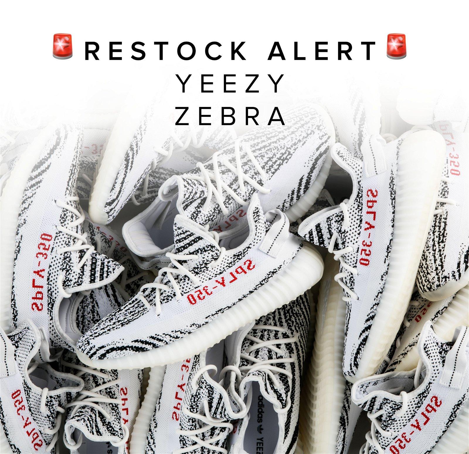 Yeezy Boost 350 V2 'Zebra