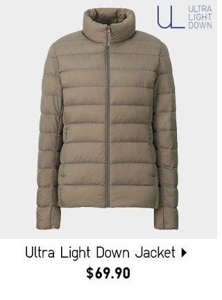 Ultra Light Down Jacket - Shop Women