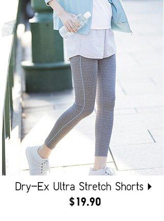 DRY-EX Ultra Stretch Shorts - Shop Women