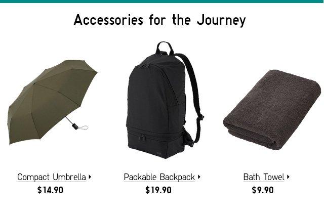 Accessories, Umbrella, Backpack, Bath Towel - Shop Now