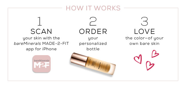 Bare Escentuals: New: MADE-2-FIT Custom-Blended Foundation | Milled