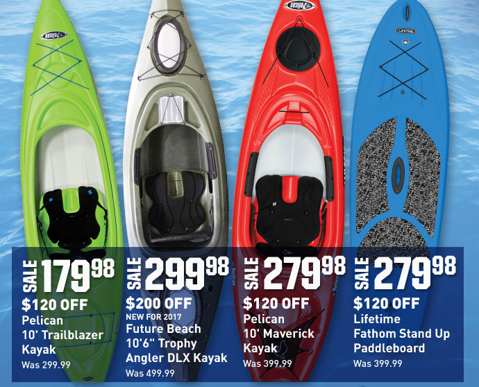 Dick's Sporting Goods: Save Up To $200 On Kayaks & Canoes   Milled