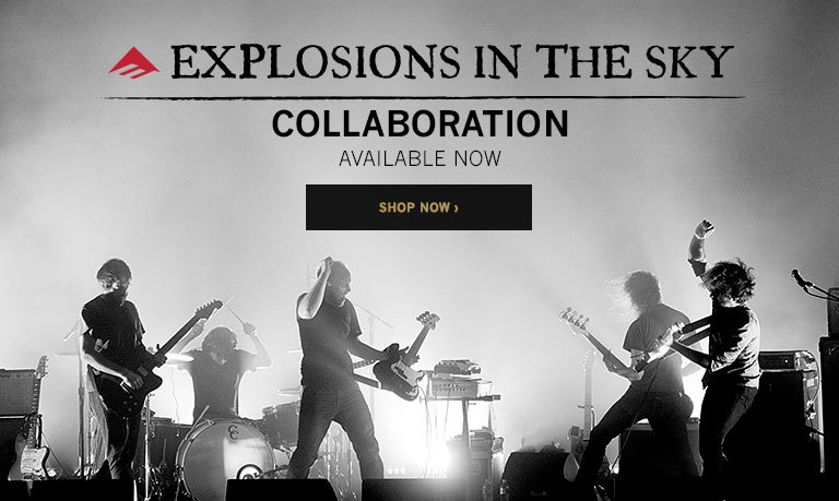 Emerica Explosions In The Sky X Emerica Collab