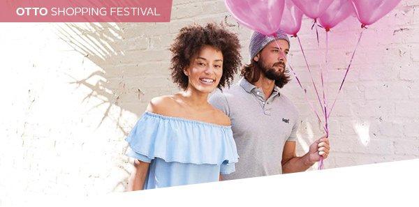 otto schon in festival stimmung wir sind es das erste otto shopping festival ist er ffnet. Black Bedroom Furniture Sets. Home Design Ideas