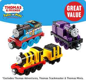 Thomas and Friends Take-n-Play Engines