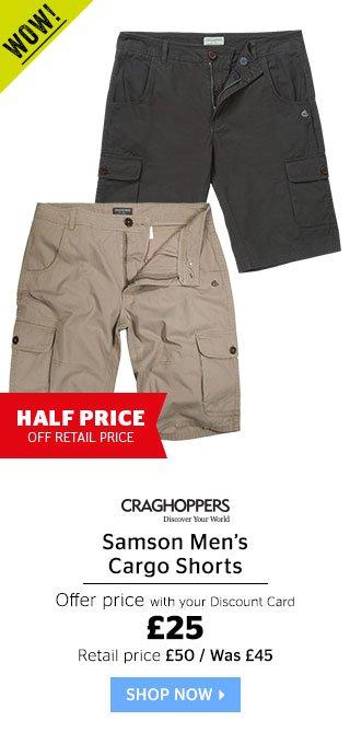 Craghoppers Samson Cargo Shorts