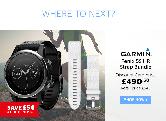 Garmin Fenix 5S HR Strap Bundle