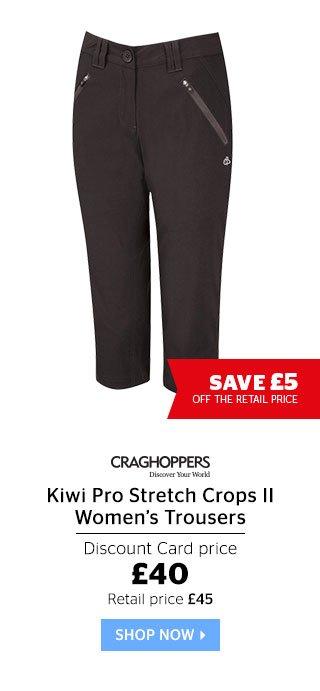 Craghoppers Kiwi Pro Stretch Crops II