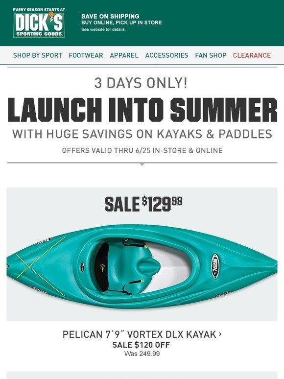 Theme kyak sale dicks sporting goods