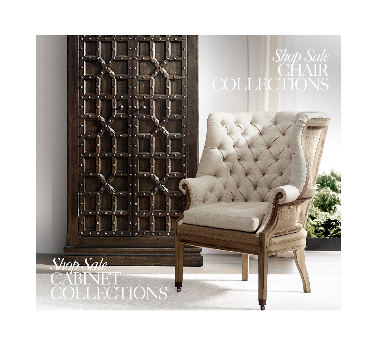 Restoration Hardware Sale: Restoration Hardware: The Summer Clearance Sale. Save Up
