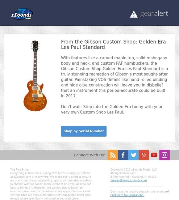 zZounds: Relive the Golden Era of the Les Paul! | Milled