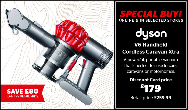 Dyson V6 Handheld Cordless Caravan Extra