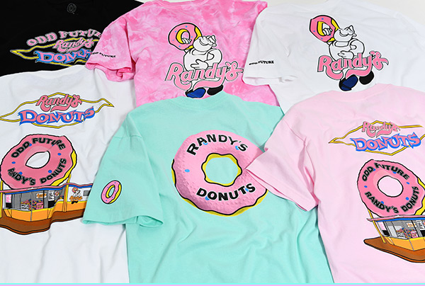 9d1646b334da Odd Future x Randy s Donuts Collection - Shop Now