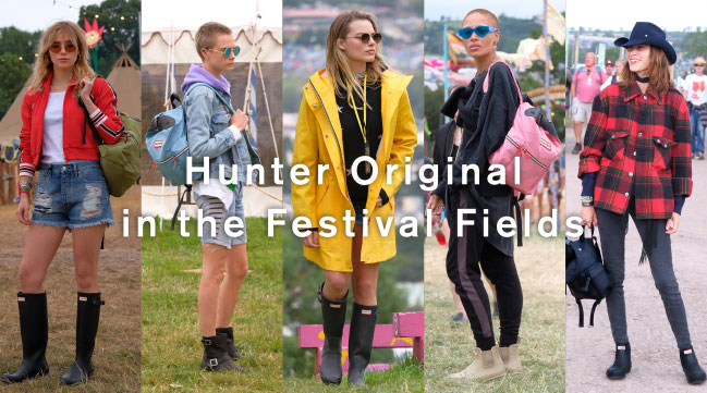 Hunter Original in the Festival Fields