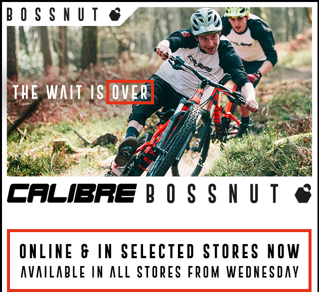 NEW IN – Calibre Bossnut V2 full-suspension mountain bike, available now!