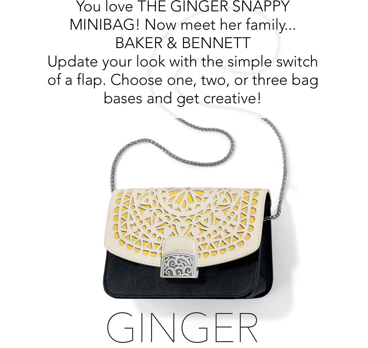 0d6f72899e04 You love the Ginger Snappy Minibag! - Now meet her family... Baker