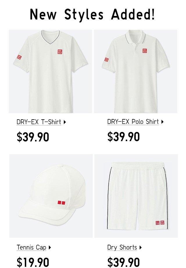 New Arrivals, Kei Nishikori Tenniswear Collection - Shop Mens