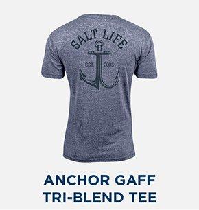 Anchor Gaff Tri-Blend Tee