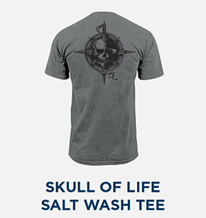 Skull Of Life Salt Wash Pocket Tee